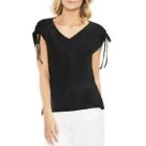 Vince Camuto tie sleeve blouse